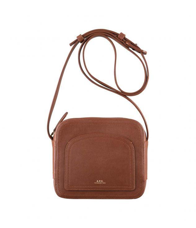 아페쎄 루이제트백 - 너트 브라운 A.P.C. Louisette bag,NUT BROWN