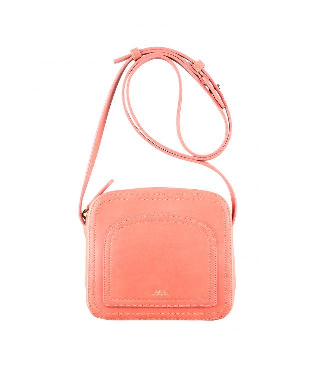 아페쎄 루이제트백 A.P.C. Louisette bag,CORAL