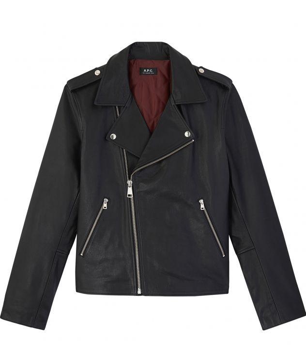아페쎄 옴므 자켓 A.P.C. Uno jacket,BLACK