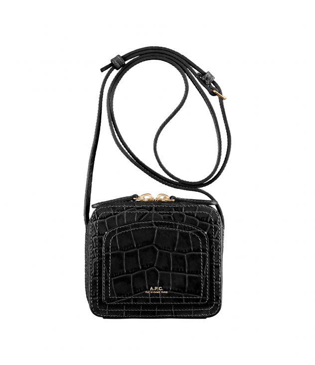 아페쎄 루이제트백 미니 - 블랙 A.P.C. Louisette Mini,BLACK