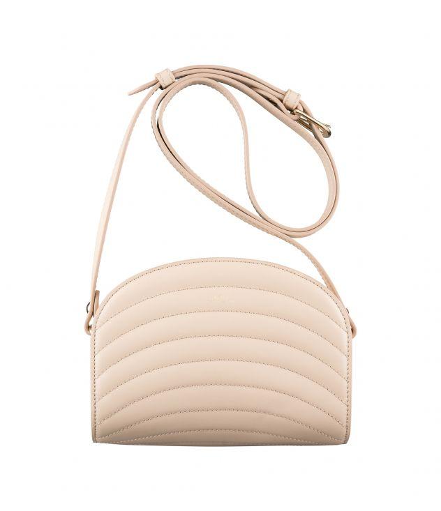 아페쎄 하프문백 미니 A.P.C. Demi-Lune Mini bag,Rosy beige