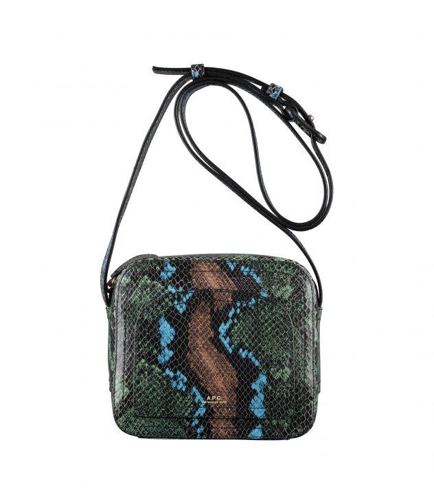 아페쎄 루이제트백 A.P.C. Louisette bag,GARNET RED