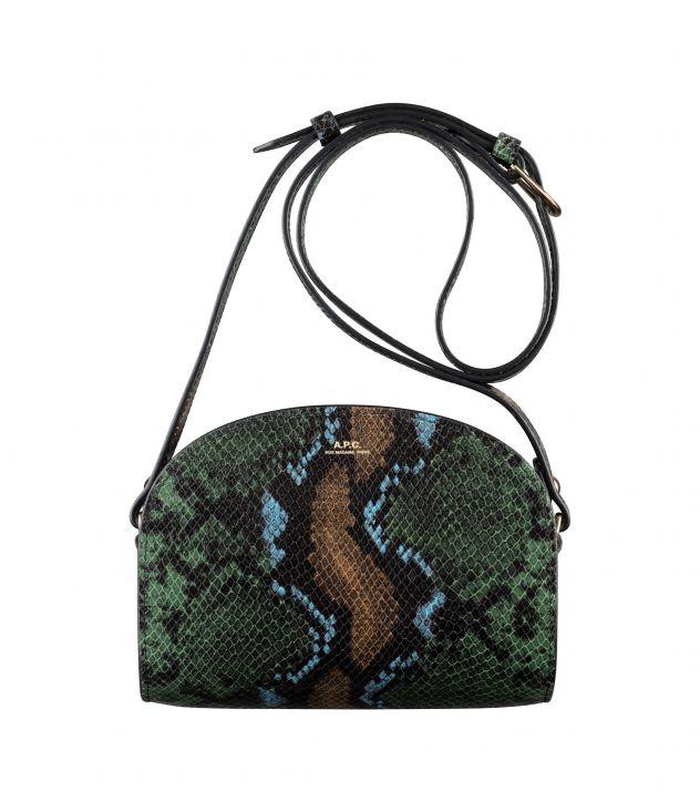 아페쎄 하프문백 미니 A.P.C. Demi-Lune Mini bag,GARNET RED