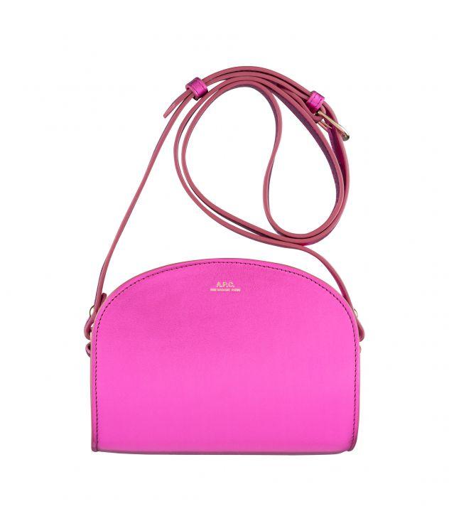 아페쎄 하프문백 미니 A.P.C. Demi-Lune Mini bag,Fuchsia