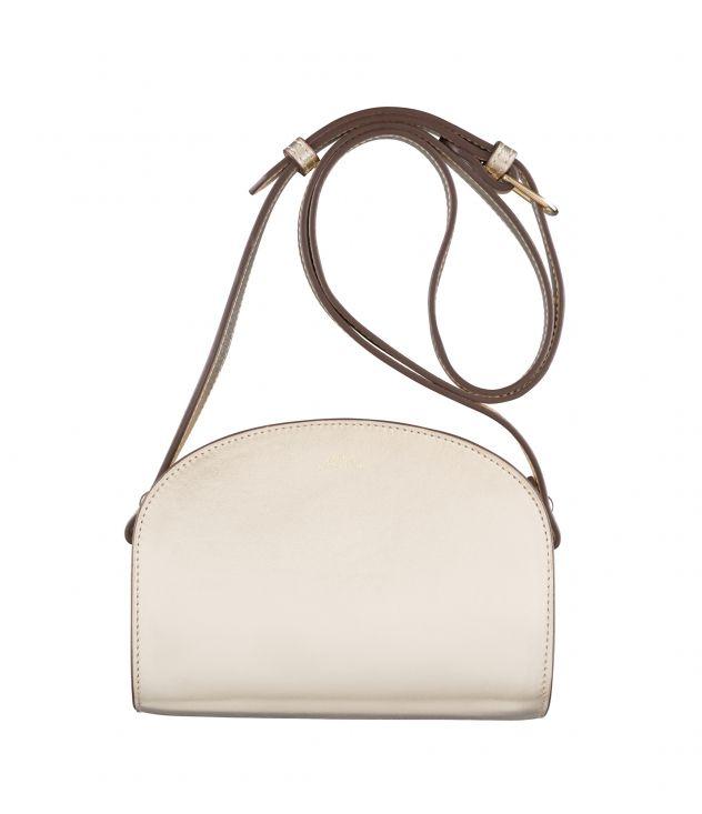 아페쎄 하프문백 미니 A.P.C. Demi-Lune Mini bag,Goldtone