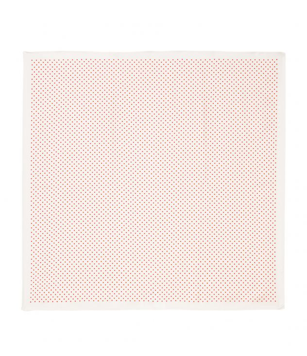 아페쎄 A.P.C. Polka-dot bandana,Off white