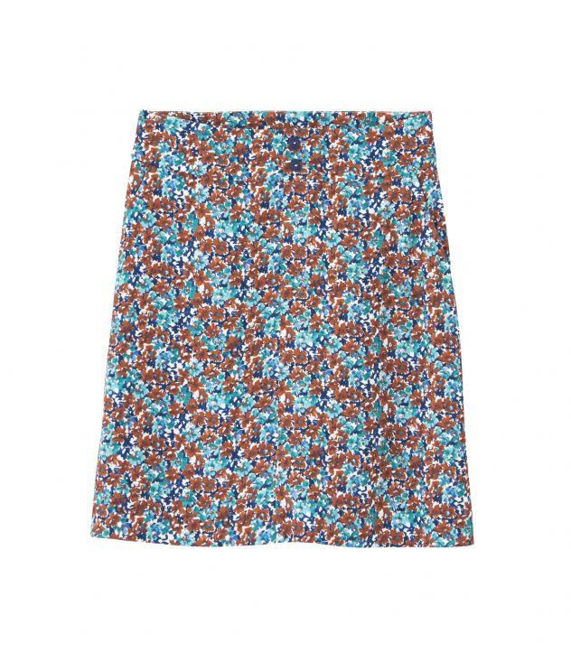 아페쎄 크리스타 스커트, 플로럴 패턴 - 레드 A.P.C. Christa skirt Viaho-f06298