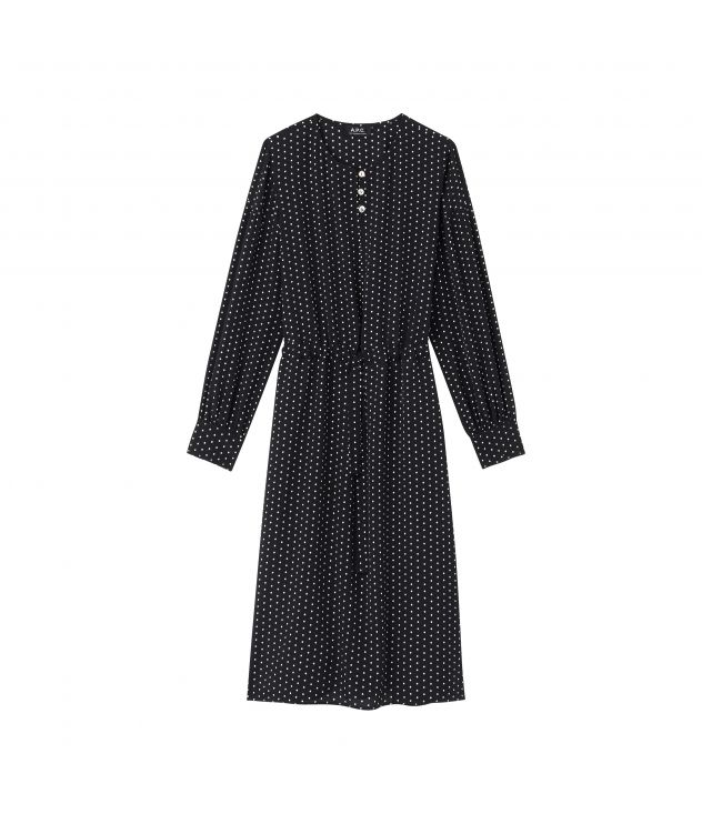 아페쎄 원피스 A.P.C. Clemence dress,Near black