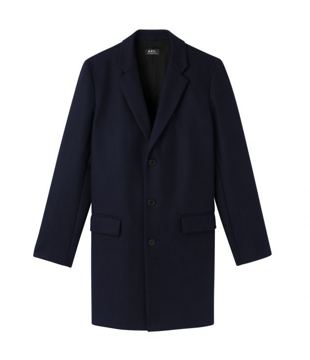 아페쎄 옴므 코트 A.P.C. Visconti coat,DARK BLUE