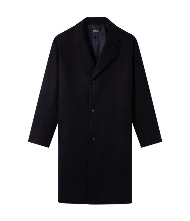 아페쎄 옴므 코트 A.P.C. Robin coat,DARK BLUE