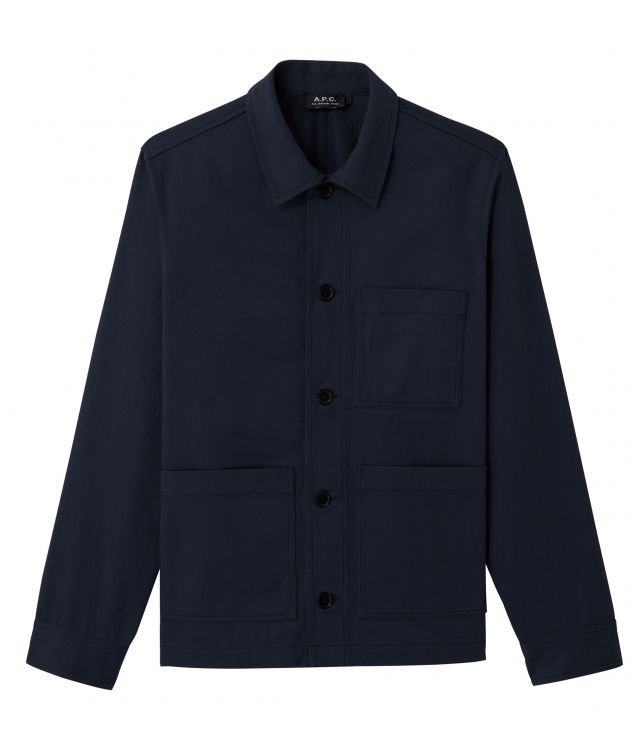 아페쎄 옴므 자켓쎄 A.P.C. Emile jacket,DARK BLUE