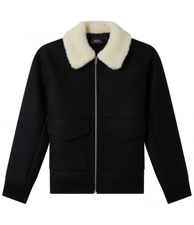 아페쎄 옴므 자켓 A.P.C. Ben jacket,BLACK