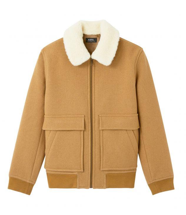 아페쎄 옴므 자켓 A.P.C. Bronze jacket,Camel