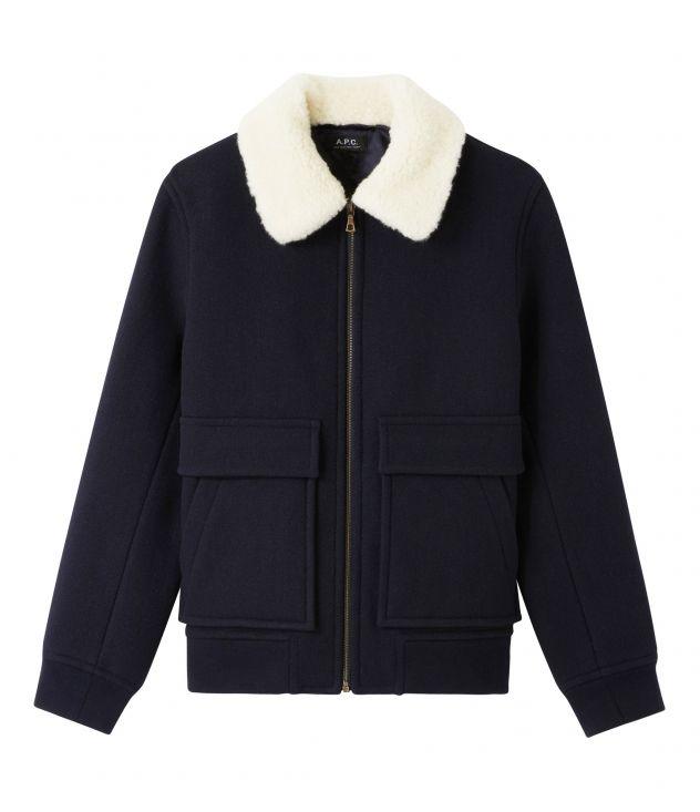 아페쎄 옴므 자켓 A.P.C. Bronze jacket,Dark navy blue