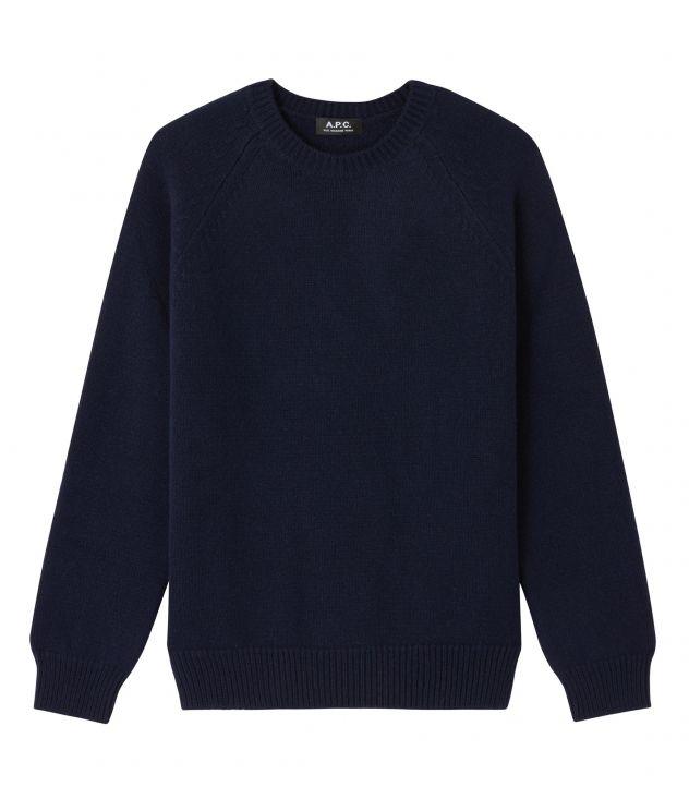아페쎄 옴므 점퍼 A.P.C. Pablo jumper,DARK NAVY BLUE