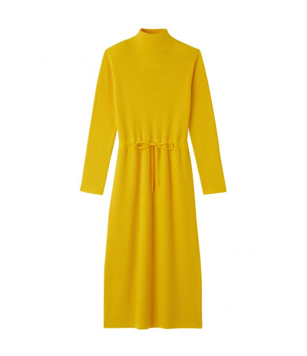 아페쎄 원피스  A.P.C. Alma dress,Yellow