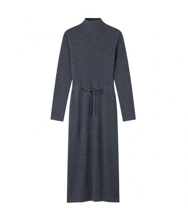 아페쎄 원피스 A.P.C. Alma dress,Heather charcoal grey