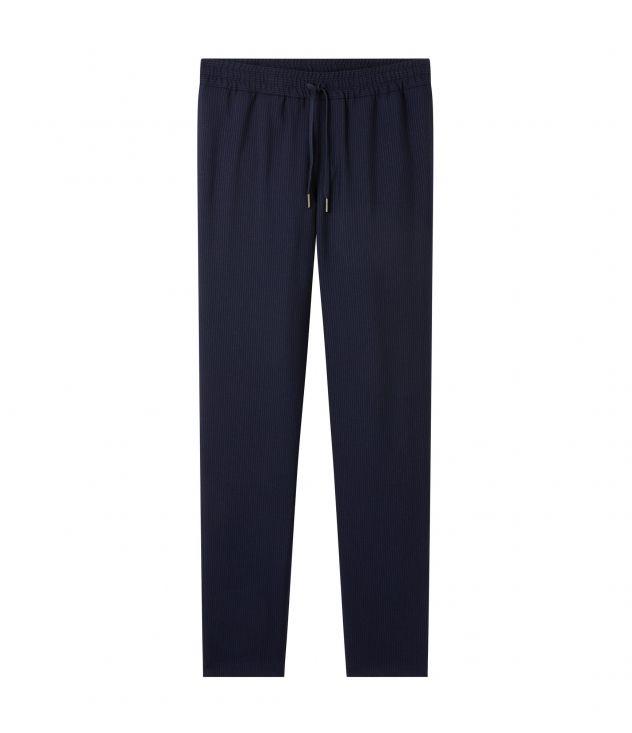 아페쎄 옴므 팬츠 A.P.C. New Kaplan trousers,NAVY BLUE
