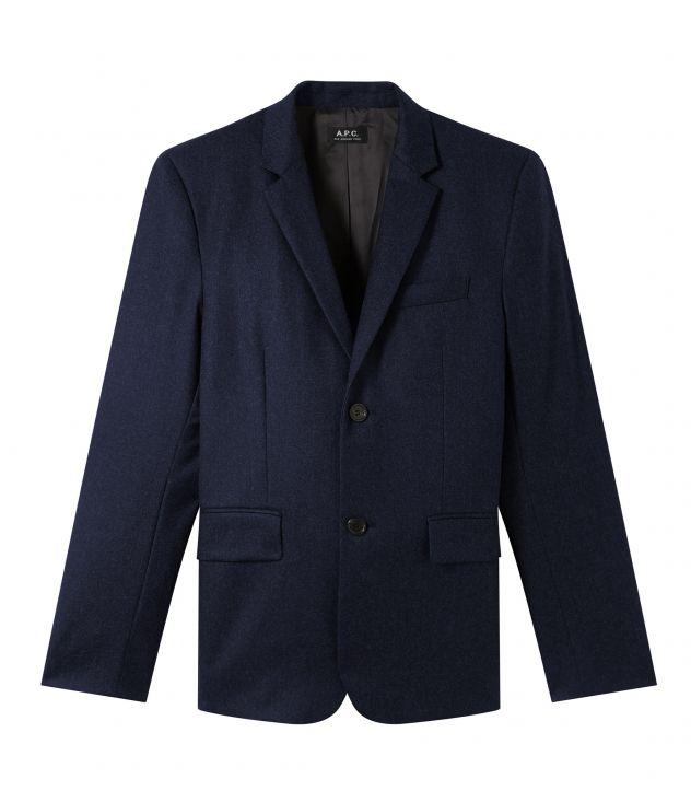 아페쎄 옴므 자켓 A.P.C. Spencer jacket,DARK NAVY BLUE